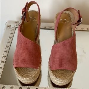 New MLANDELA ESPADRILLE WEDGE SANDAL